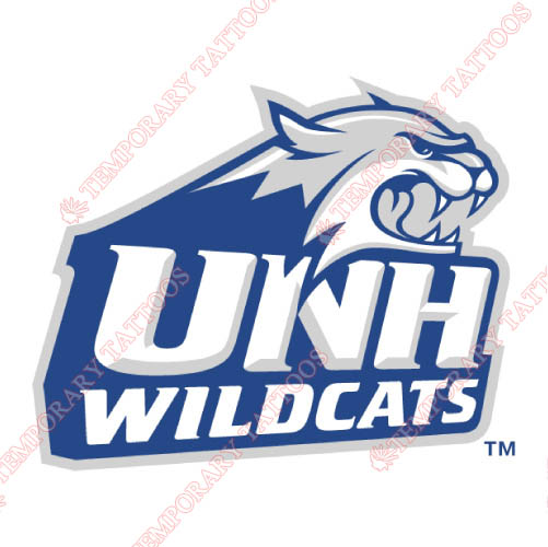 New Hampshire Wildcats Customize Temporary Tattoos Stickers NO.5407